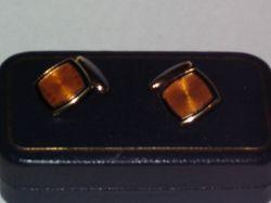 Vintage enamel cufflinks by Hilditch & Key