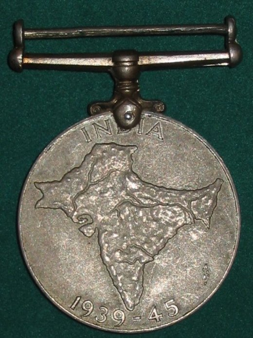India Service Medal (WWII) - UK