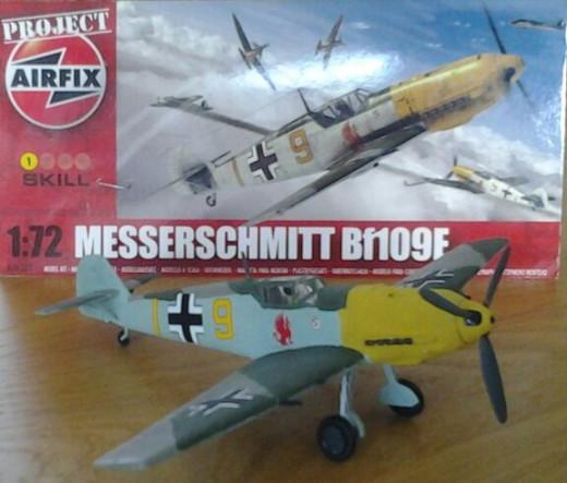 Project Airfix Messerscmitt Bf109e-4