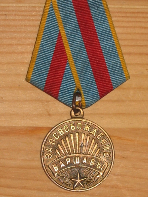 Liberation of Warsaw Medal - USSR