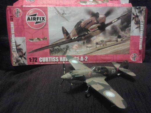 Airfix AVG Curtiss Hawk