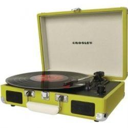 retro modern portable record player