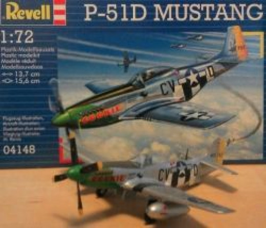 "Revell P51-D Mustang ""Cookie"""