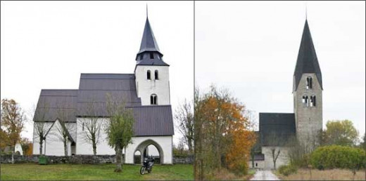 Images of gotland medieval churches