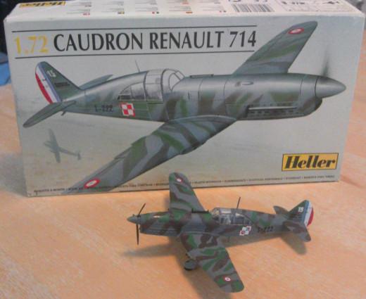 1:72 Heller Caudron Renault 714 Cyclone