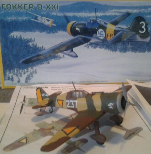 PM Models Fokker DXXI