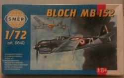 SMER Bloch MB152 fighter