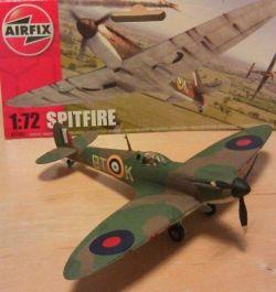 Airfix Spitfire BTK completed