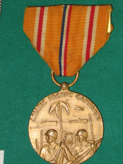 WWII Asiatic-Pacific Medal -USA