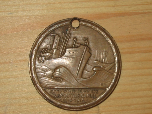 WWI Mercantile Marine Medal - UK