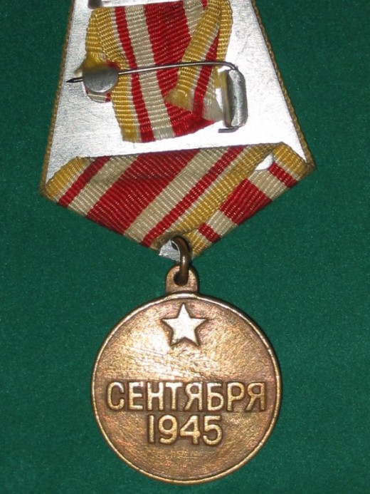 Victory Over Japan Medal - USSR