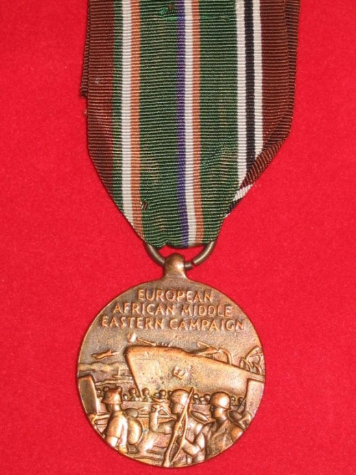 WWII US Europe, Africa and Middle East Campaign Medal