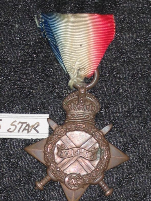 British 1914-15 Star - obverse