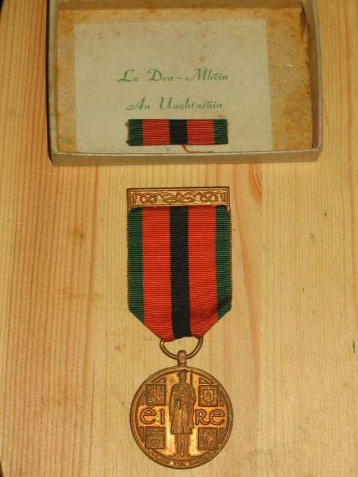 "Republic of Ireland 1921-1971 Survivor's Medal - ""The Truce Commemorative Medal 1971"" - boxed"