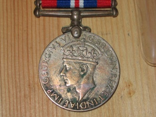British 1939-45 War Medal, Indian issue, to a Havildar in the Patiala State Force