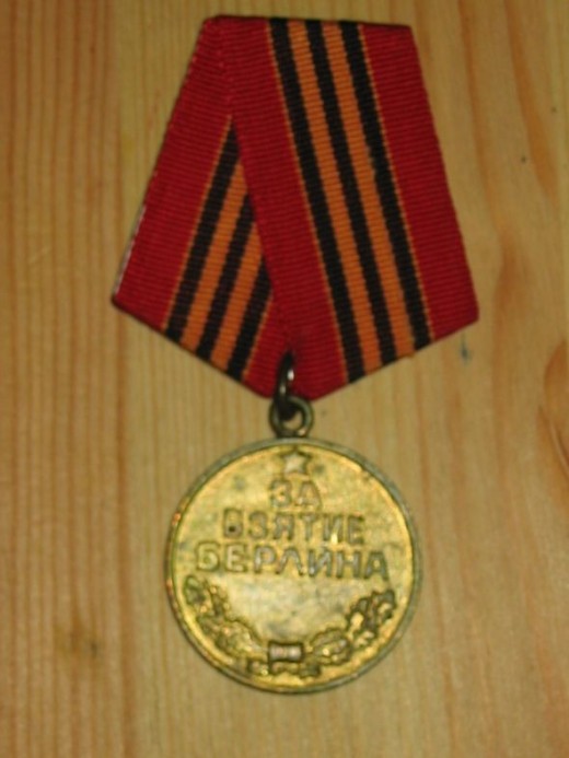 USSR WWII Conquest of Berlin medal (obverse)