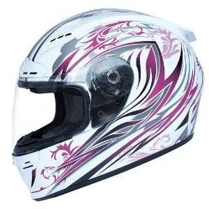 seven zero seven womens backlash allure full face motorcycle helmet