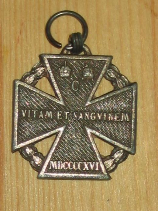 Austrian WWI Karltruppenkreuz