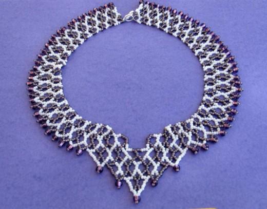 beaded necklace Atlantis