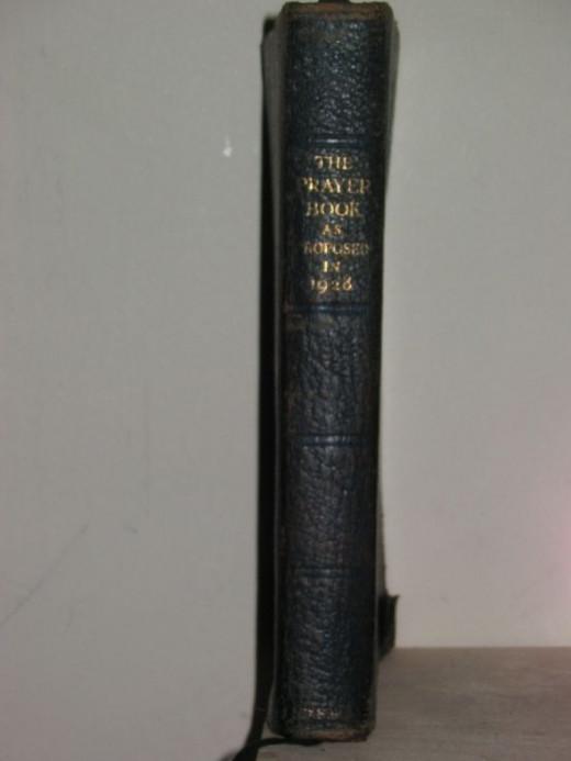 1928 BCP - Spine