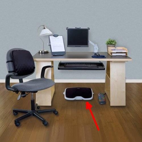 Kensington Solemate Comfort Footrest with SmartFit System