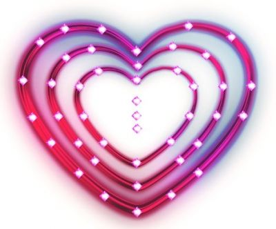 I Used This Free Heart Picture As The Border For My Card
