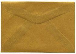Gold Translucent Vellum Envelope