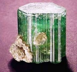 watermelon tourmaline rough