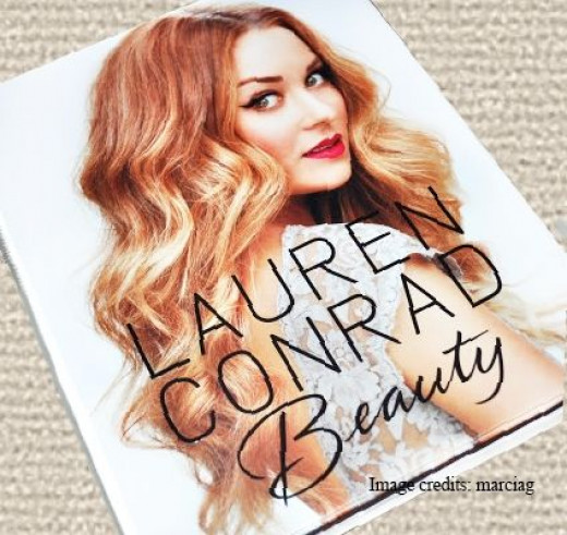 my copy of Lauren Conrad's Beauty