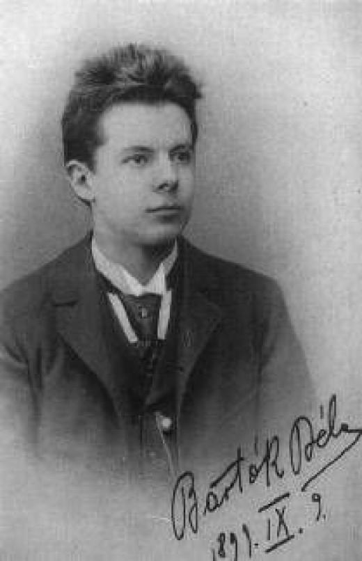 Bartok Bela age 22