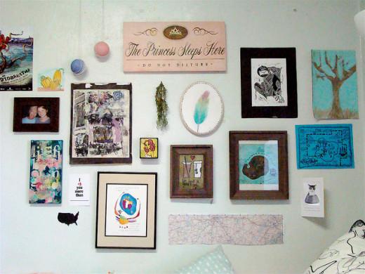dorm room wall decor