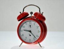 set the alarm