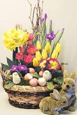 flower arranging for easter