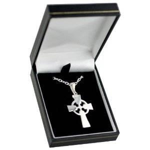 hand engraved Celtic Cross