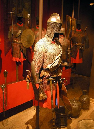 Chain Mail Used As Armor In The Middle Ages