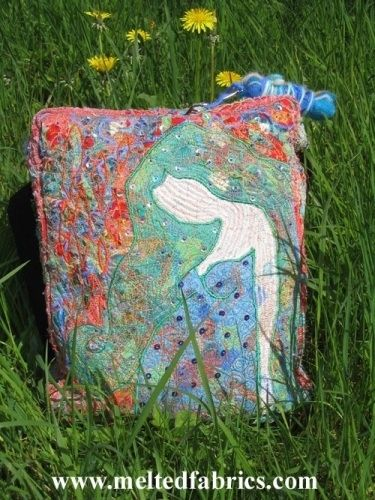 Textiles Bag by MeltedRachel
