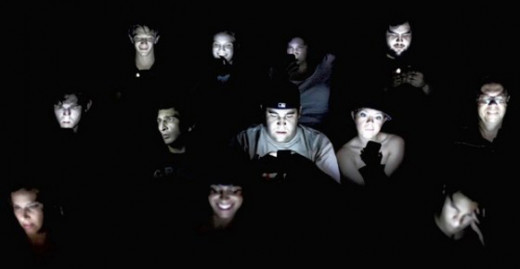 The digital dependent generation