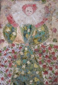 Historical Women Depicted in Textiles