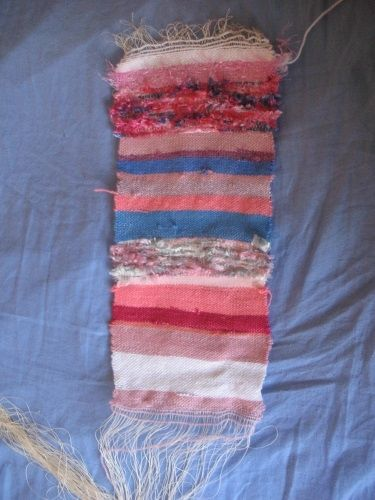 First weaving project on Rigid Heddle Loom
