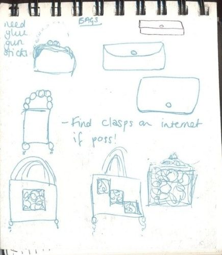 Bag Doodles by MeltedRachel