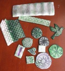 Polystyrene Stamps by MeltedRachel