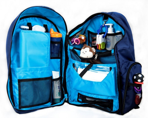Okkatots Baby Depot diaper bag backpack