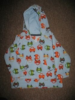 Thrifted baby hoodie
