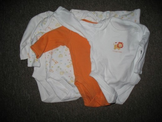 4 sleep suits (0-3 months) for 3.79 (including postage) from ebay.
