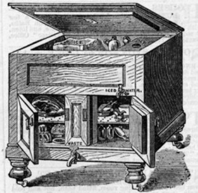 First artificial Refrigerator Invented