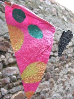 Plastic Bunting by MeltedRachel