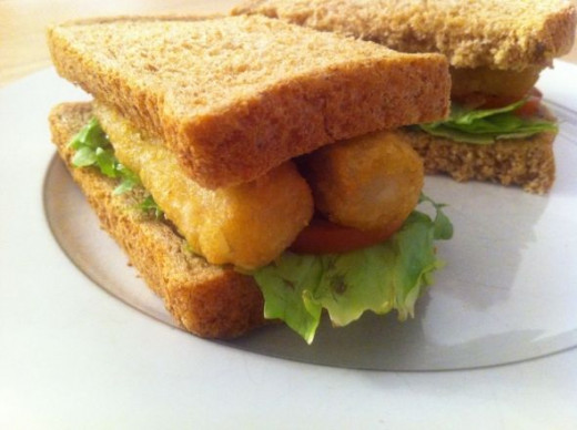 Fish fingers toasted sandwich recipes