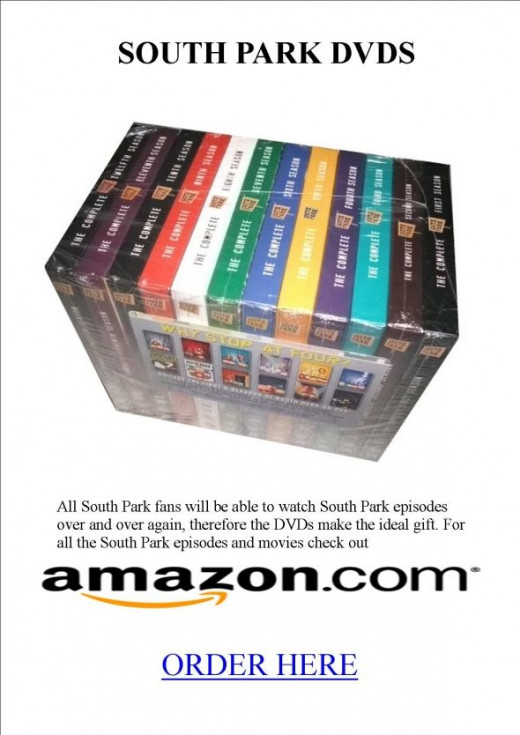 South Park DVDs