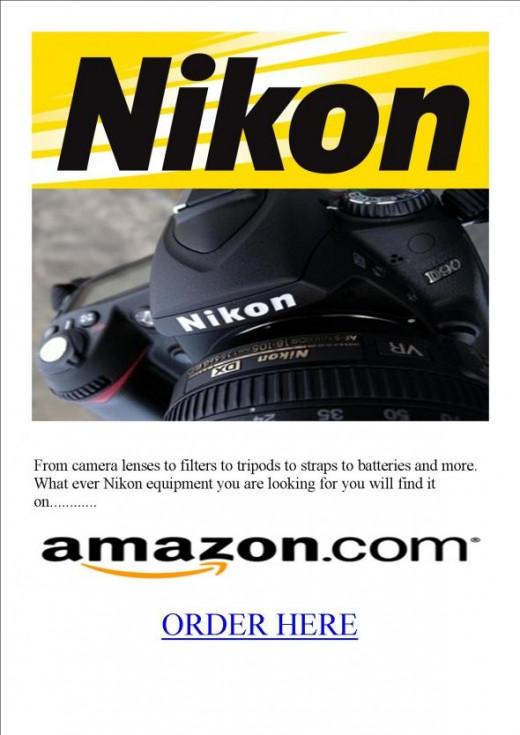 Nikon equipment