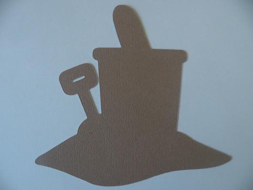 Pail & Shovel shadow layer